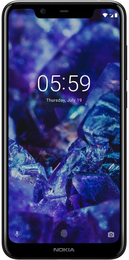 Смартфон NOKIA 5.1 Plus 32Gb,  черный