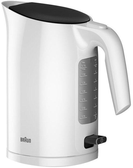 Чайник электрический BRAUN WK3110WH, 3000Вт, белый