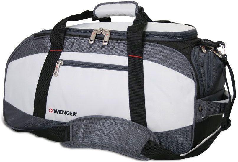Сумка спортивная Wenger 1200D черный/серый 52744465 52x25x30см