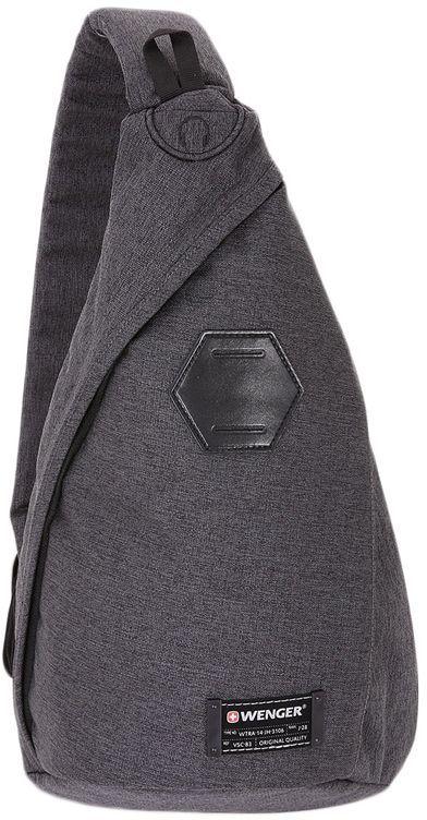 Рюкзак Wenger 600D PU серый 2607424550 25x45x15см 7л.