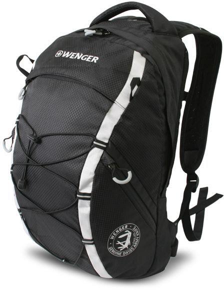 Рюкзак Wenger 900D черный/серый 30532499 29x19x47см 25л.