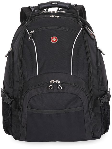 Рюкзак Wenger 900D/М2 добби черный 3181032000408 36x19x47см 32л. 1.14кг.