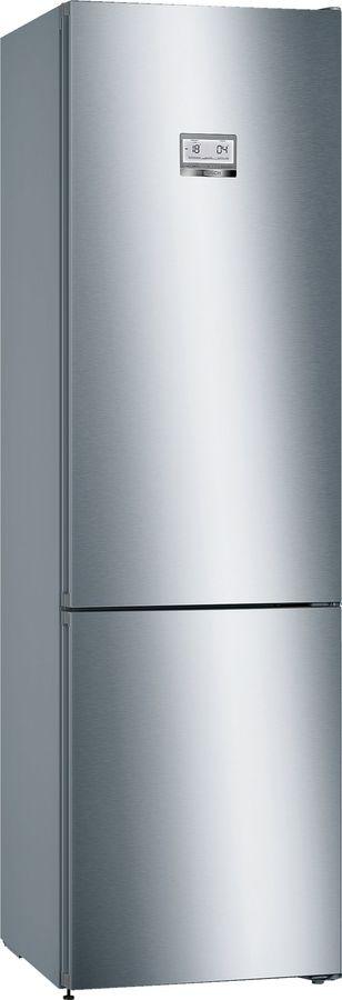 Холодильник BOSCH KGN39HI3AR,  двухкамерный, нержавеющая сталь