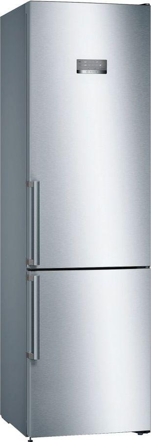 Холодильник BOSCH KGN39XL32R,  двухкамерный, нержавеющая сталь