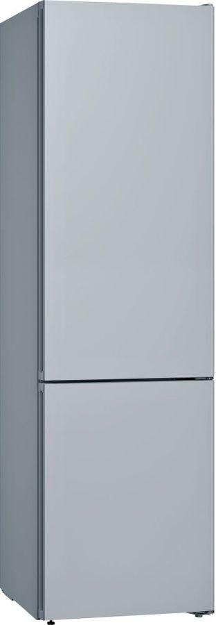 Холодильник BOSCH KGN39IJ31R,  со сменными цветными панелями,  двухкамерный, серебристый