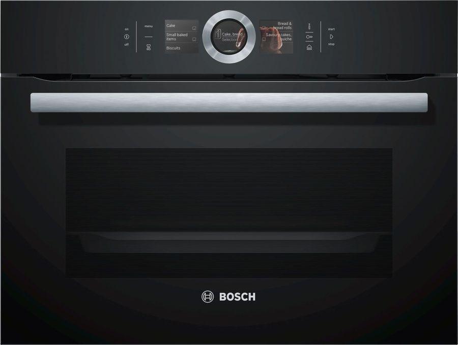 Духовой шкаф BOSCH CSG656RB7,  черный