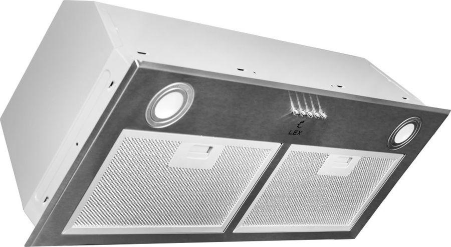 Вытяжка встраиваемая Lex GS Bloc P 900 нержавеющая сталь управление: кнопочное (1 мотор)
