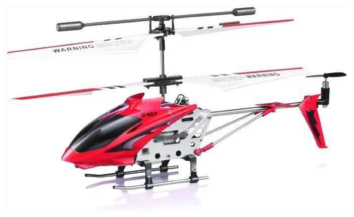 Квадрокоптер SYMA S107G без камеры,  красный [s107g red]