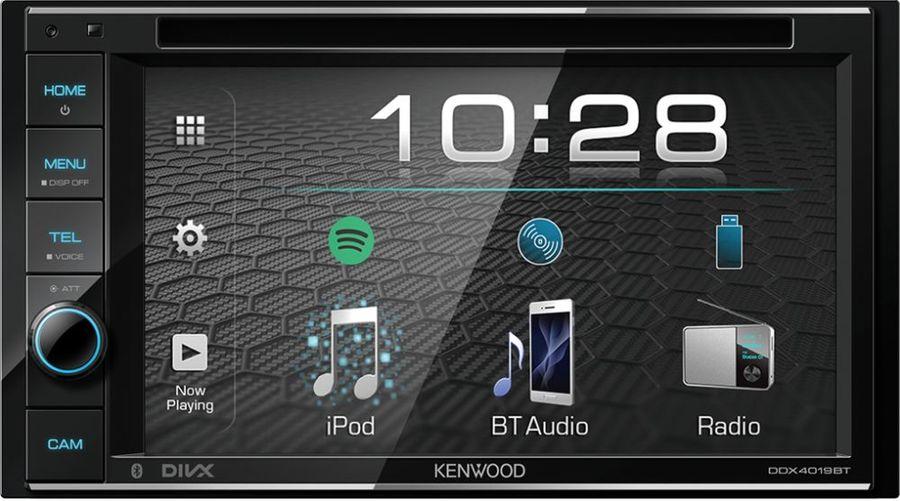 Автомагнитола KENWOOD DDX4019BTR,  USB