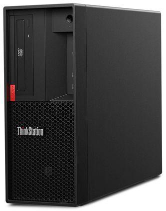 Рабочая станция  LENOVO ThinkStation P330,  Intel  Core i7  8700,  DDR4 8Гб, 1000Гб,  NVIDIA Quadro P400 - 2048 Мб,  DVD-RW,  Windows 10 Professional,  черный [30c5002mru]