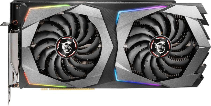 Видеокарта MSI nVidia  GeForce RTX 2070 ,  RTX 2070 GAMING 8G,  8Гб, GDDR6, Ret