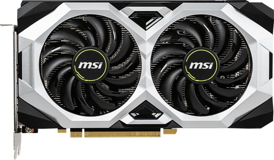 Видеокарта MSI nVidia  GeForce RTX 2070 ,  RTX 2070 VENTUS 8G,  8Гб, GDDR6, Ret