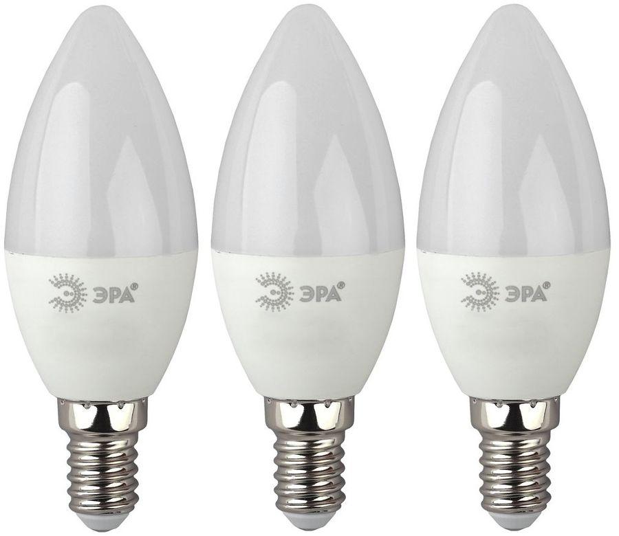 Лампа ЭРА B35-7W-840-E14, 7Вт, 560lm, 30000ч,  4000К, E14,  3 шт. [б0020539]