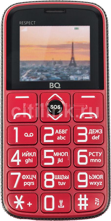 Купить Мобильный телефон BQ Respect 1851, красный по выгодной цене в ... 9c22a42f4a4