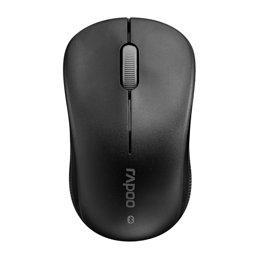 Мышь RAPOO 6010В, оптическая, беспроводная, черный [16465]
