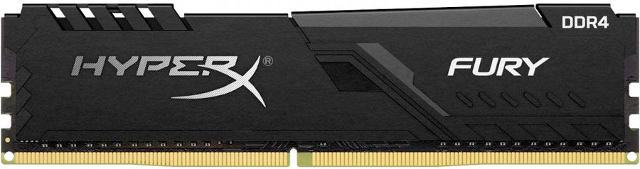 Модуль памяти KINGSTON HyperX FURY Black HX432C16FB3/8 DDR4 -  8Гб 3200, DIMM,  Ret