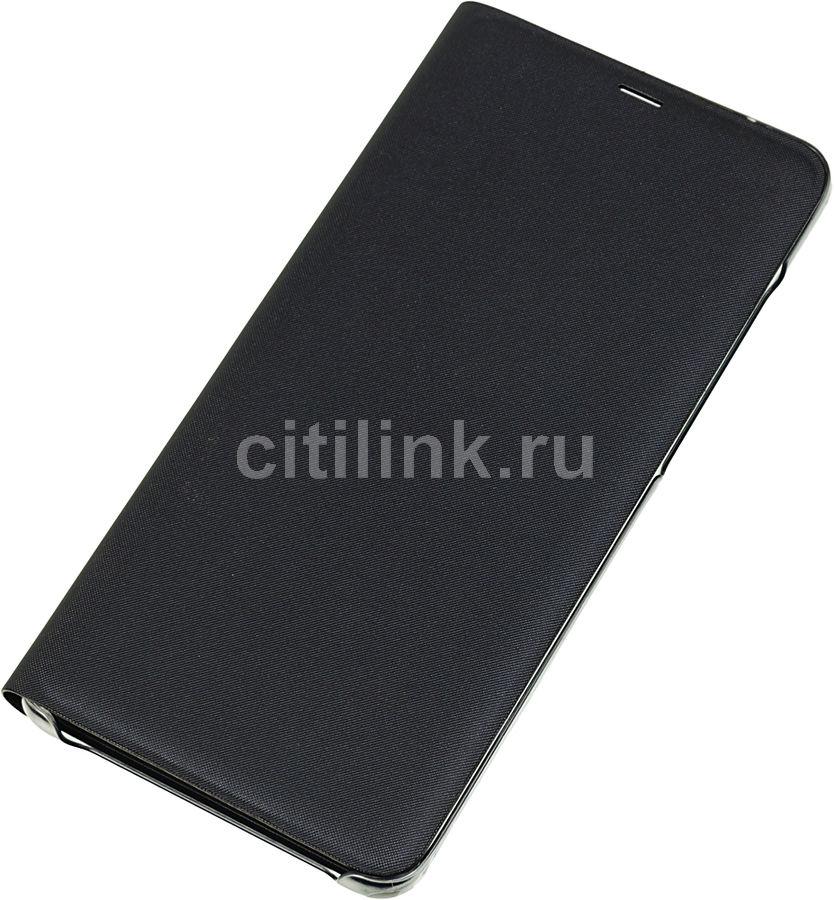 Чехол (флип-кейс) SAMSUNG Wallet Cover, для Samsung Galaxy A9 2018, черный [ef-wa920pbegru]