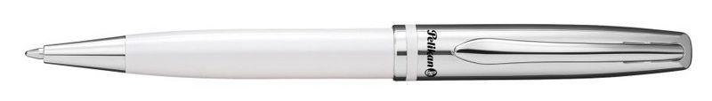 Ручка шариковая Pelikan Jazz Classic K35 белый кор.подар.пирам.