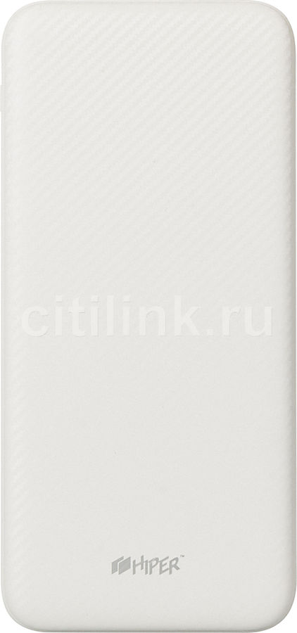 Внешний аккумулятор (Power Bank) HIPER SPX20000,  20000мAч,  белый [spx20000 white]