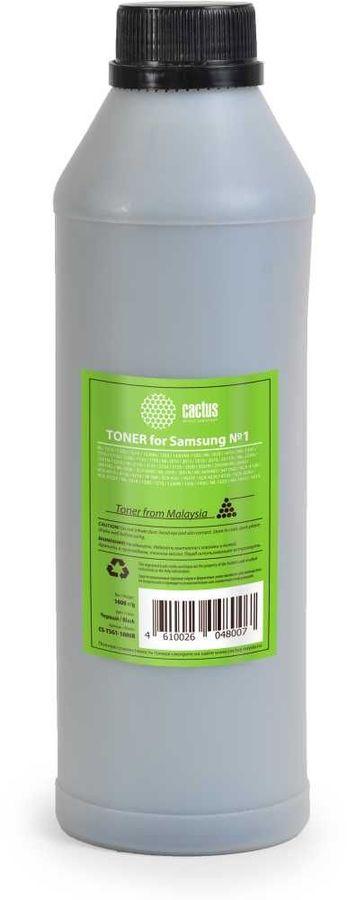 Тонер CACTUS CS-TSG1-1000B,  для Samsung ML 1610/2010/SCX 4100/4200,  черный, 1000грамм, пакет
