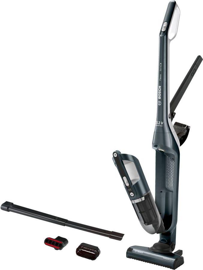 Пылесос-электровеник (handstick) BOSCH BCH3ALL25, синий/черный