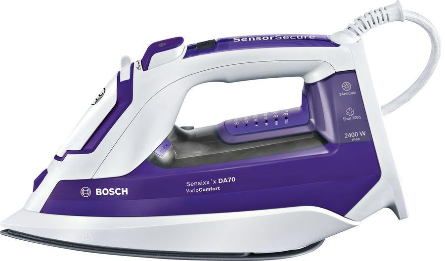 Утюг BOSCH TDA752422V,  2400Вт,  белый/ фиолетовый