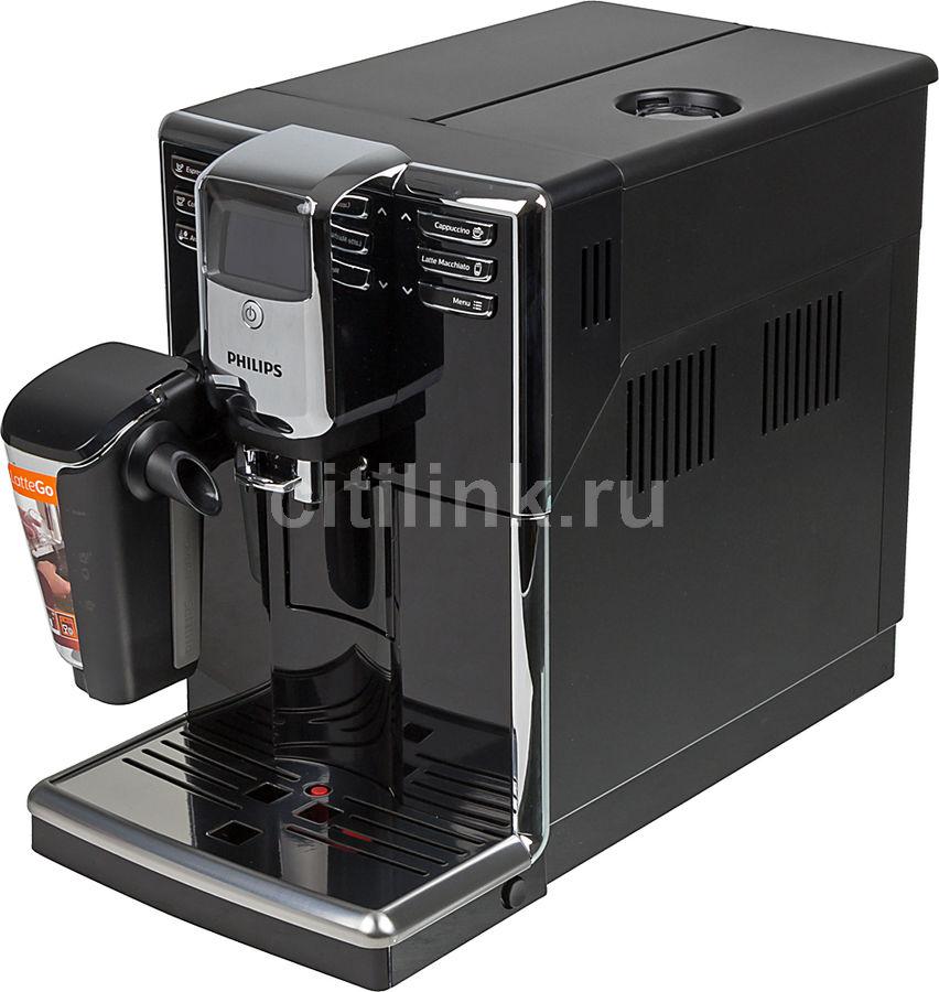 Кофемашина PHILIPS Series 5000 EP5030/10,  черный/серебристый