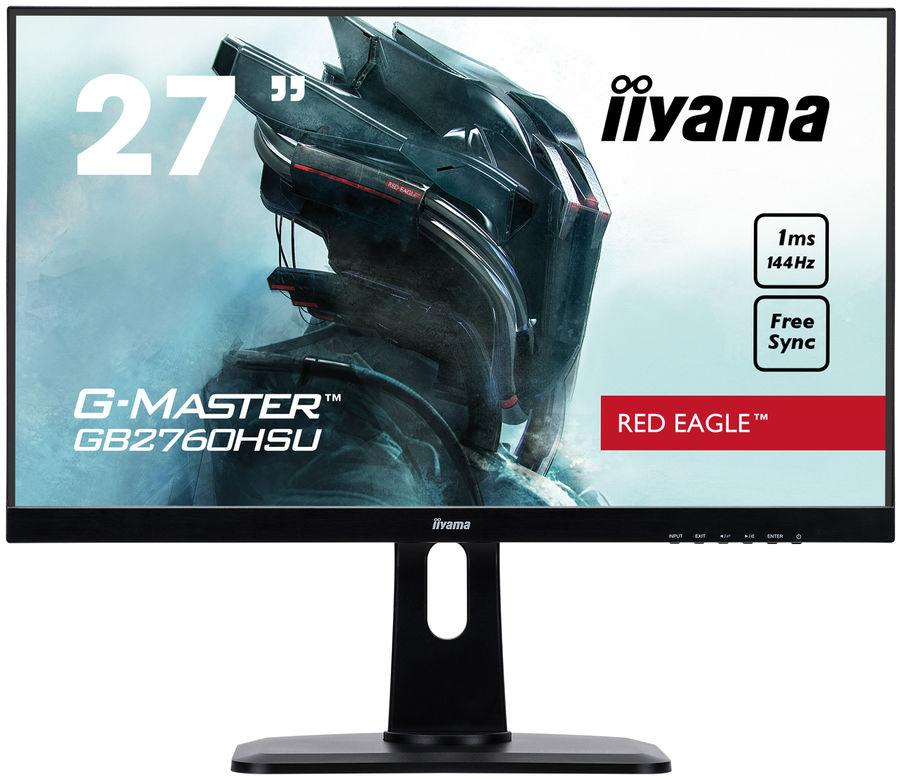 """Монитор игровой IIYAMA G-Master GB2760HSU-B1 27"""" черный"""