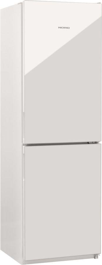 Холодильник NORD NRG 119 042,  двухкамерный, белое стекло [00000251258]