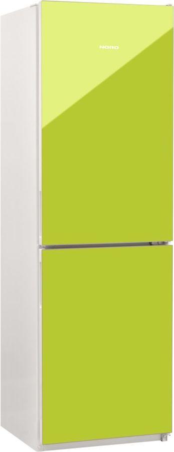 Холодильник NORD NRG 119 642,  двухкамерный, лайм стекло [00000251782]