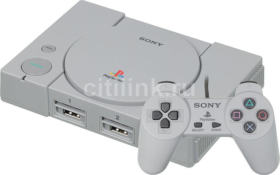 e2f22a11f7f20 Игровая консоль PLAYSTATION Classic 20 классических игр, SCPH-1000R/E, серый