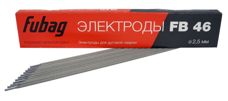 Электроды Fubag FB 46 D2.5 D2.5мм 900гр (38855)