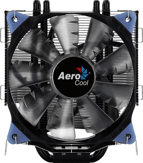 Устройство охлаждения(кулер) AEROCOOL Verkho 5 DARK,  120мм, Ret