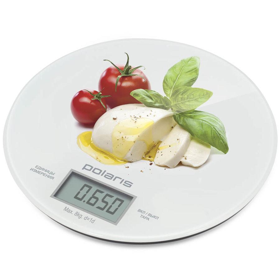 Весы кухонные POLARIS PKS 0835DG Caprese,  рисунок