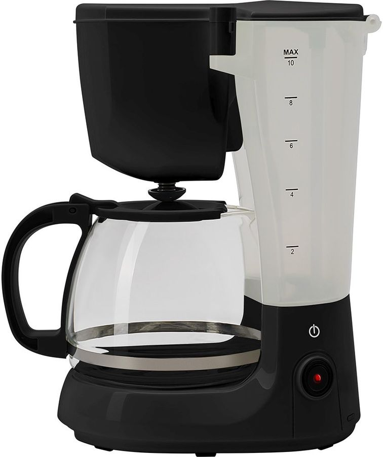 Кофеварка POLARIS PCM 1214,  капельная,  черный