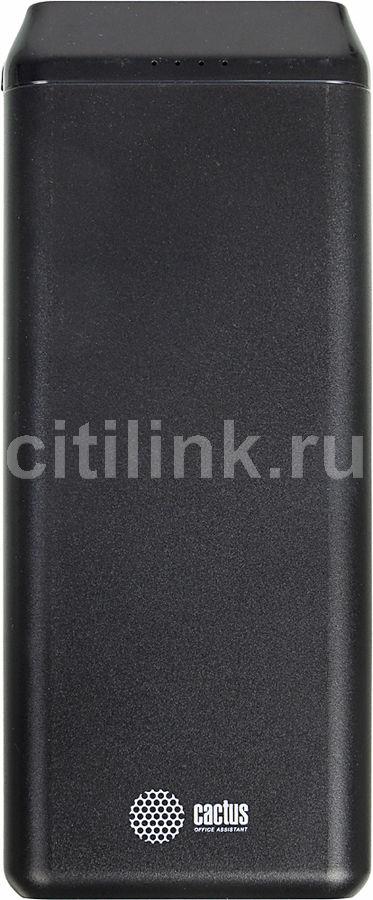 Внешний аккумулятор (Power Bank) CACTUS CS-PBFSST-20000,  20000мAч,  графит