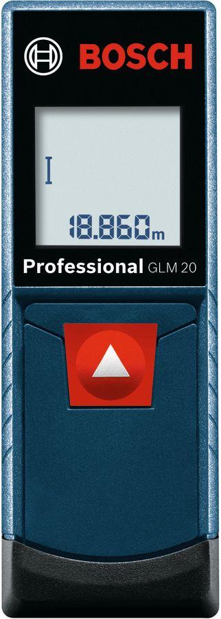 Лазерный дальномер BOSCH GLM 20 [0601072e00]