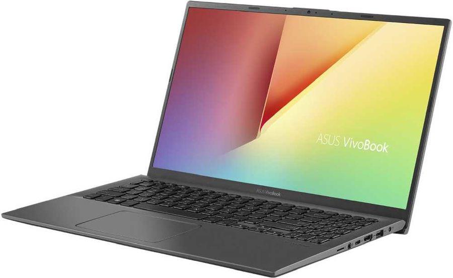 """Ноутбук ASUS VivoBook X512UF-BQ116T, 15.6"""",  Intel  Core i5  8250U 1.6ГГц, 8Гб, 256Гб SSD,  nVidia GeForce  Mx130 - 2048 Мб, Windows 10, 90NB0KA3-M02250,  серый"""