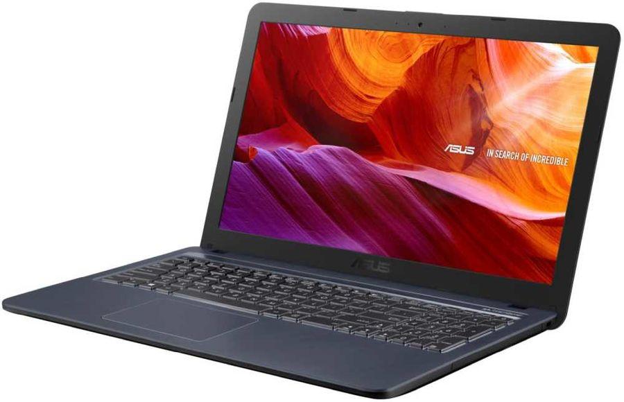 """Ноутбук ASUS VivoBook X543UB-GQ822T, 15.6"""",  Intel  Core i3  7020U 2.3ГГц, 6Гб, 1000Гб,  nVidia GeForce  Mx110 - 2048 Мб, Windows 10, 90NB0IM7-M11720,  серый"""