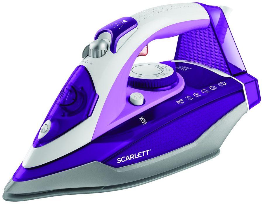 Утюг SCARLETT SC-SI30K36,  2600Вт,  фиолетовый [sc - si30k36]