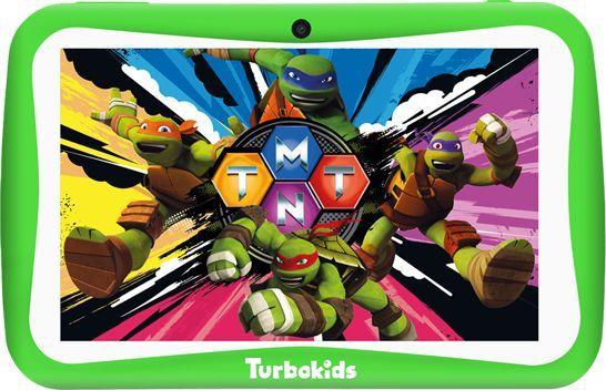 Детский планшет TURBO TurboKids Черепашки-ниндзя,  1GB, 16GB, Android 8.1 зеленый [рт00020504]