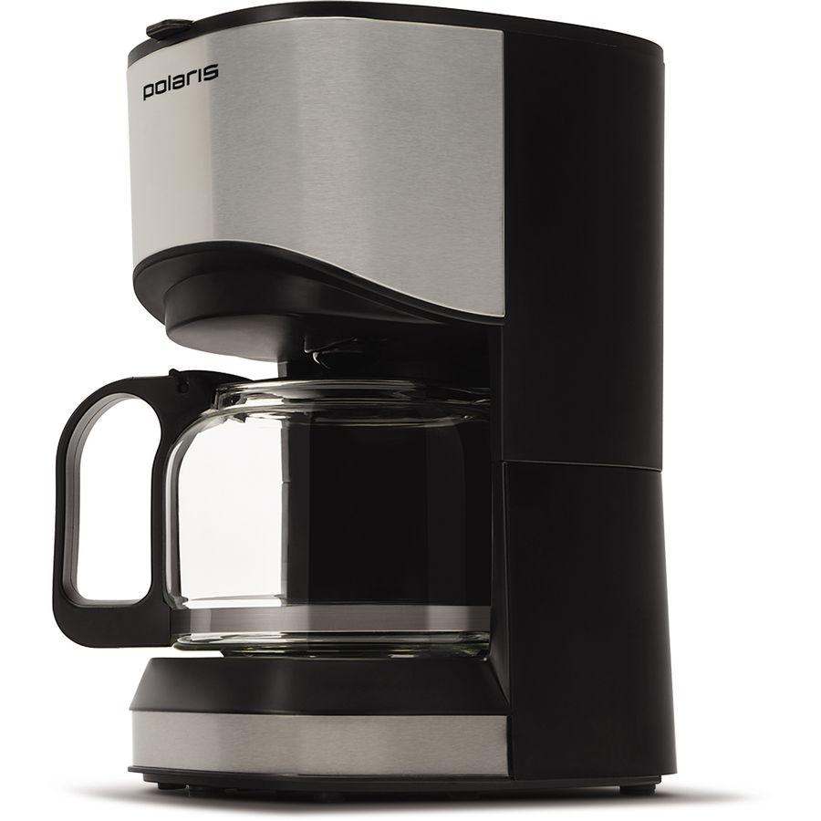 Кофеварка POLARIS PCM 0613A,  капельная,  нержавеющая сталь