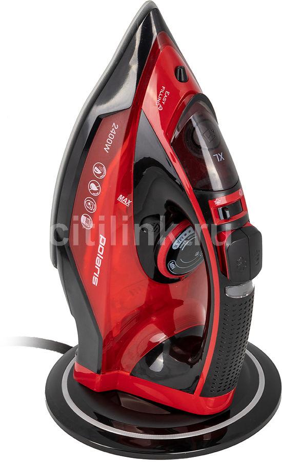 Утюг POLARIS PIR 2699K,  2600Вт,  черный/ красный