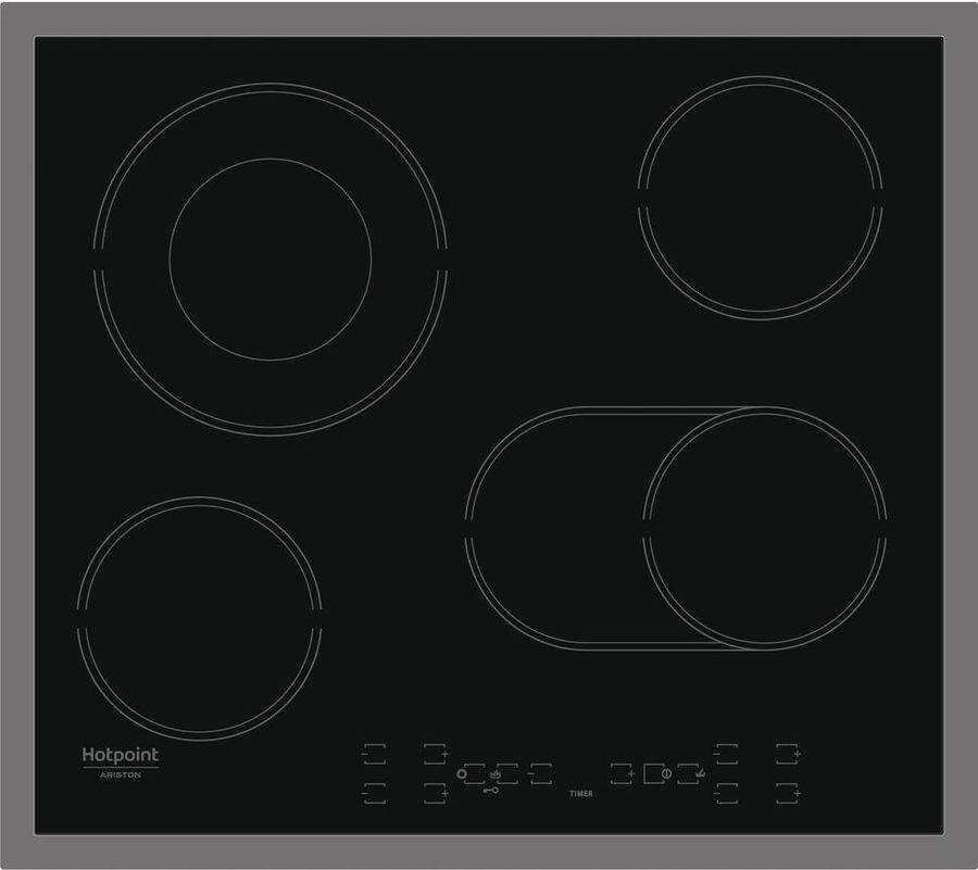 Варочная панель HOTPOINT-ARISTON HAR 642 DO X,  электрическая,  независимая,  черный