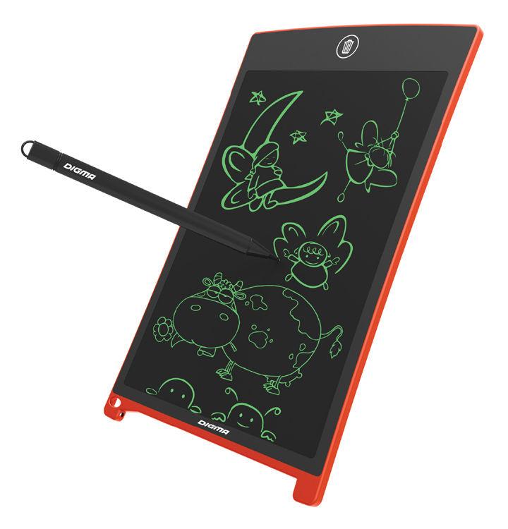 Графический планшет DIGMA Magic Pad 80 оранжевый [mp800]