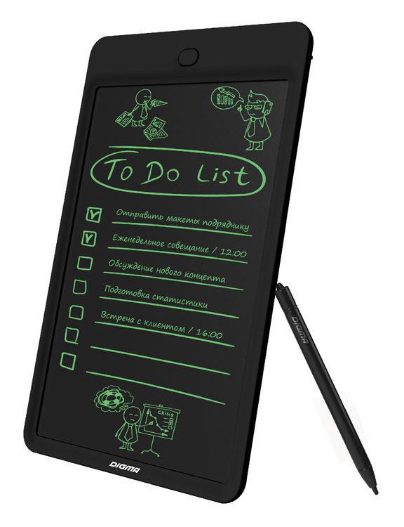 Графический планшет DIGMA Magic Pad 100 черный [mp100b]