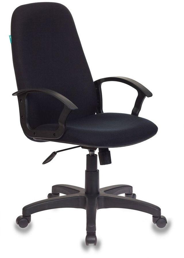 Кресло руководителя БЮРОКРАТ СН-808AXSNTR, на колесиках, ткань [сн-808axsntr/black]