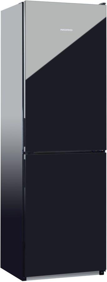 Холодильник NORD NRG 119 242,  двухкамерный, черное стекло [00000251771]
