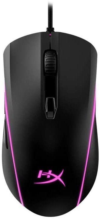 Мышь HYPERX Pulsefire Surge, игровая, оптическая, проводная, USB, черный [hx-mc002b]
