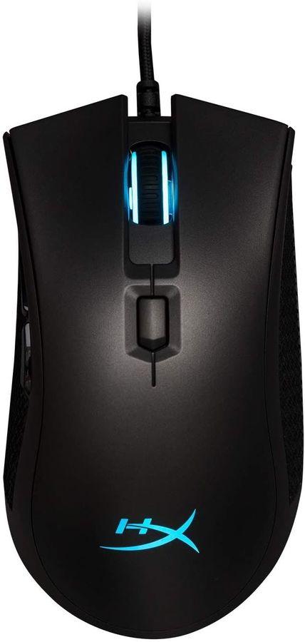 Мышь HYPERX Pulsefire FPS Pro, игровая, оптическая, проводная, USB, черный [hx-mc003b]
